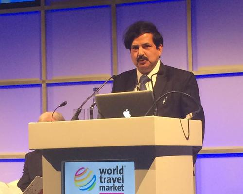 Vinod Zutshi, secretary of tourism for India, looked at how the Indian government has successfully backed up wellness programmes across the country during a panel at the World Travel Market in London