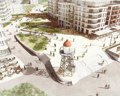 The area will be enriched with more dunes – a traditional feature of the Dutch coastal landscape – and a 280m sand-covered promenade called Balcony at Sea / West 8