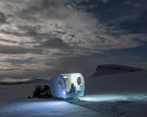 Travellers in search of the Northern Lights will soon be able to watch the majestic natural display from their beds / Kilpissafarit