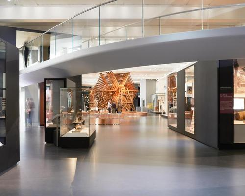 The Regional Groups Award Winner was the Information Age Gallery at the Science Museum, London / ISE