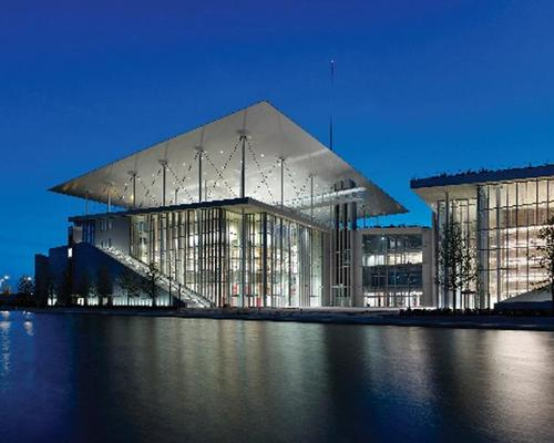 The Award for Arts or Entertainment Structures went to the Stavros Niarchos Foundation Cultural Center in Athens / ISE