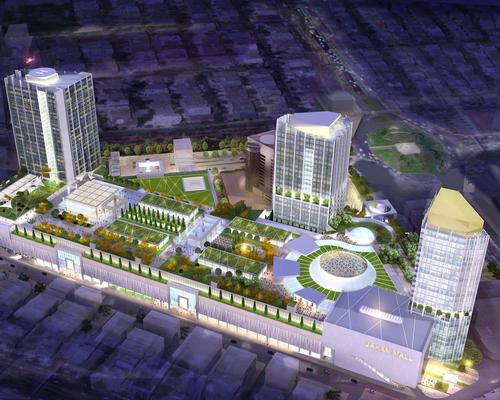 The Jahan Mall will have a 420,000sq m shopping mall, hotel and luxury residences / Chapman Taylor