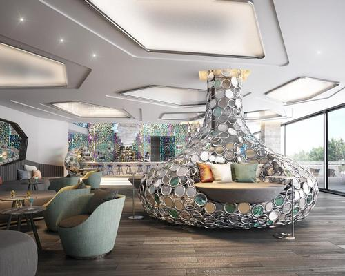 Set to open in 2018, the W Algarve will include interiors by AB Concept