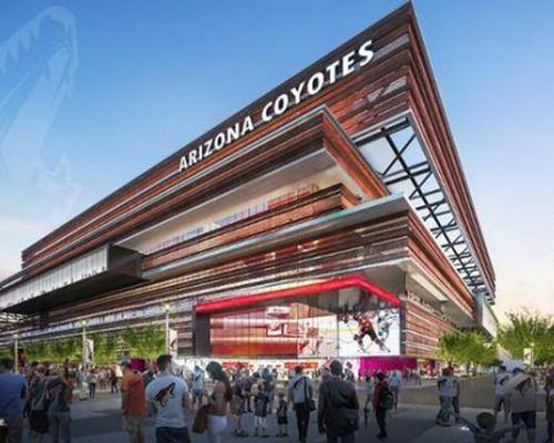 An artist's impression of the new arena