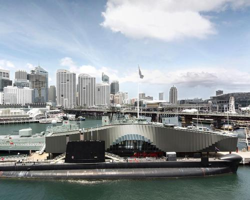 Sydney's Waterfront pavilion won in the Display category / WAF