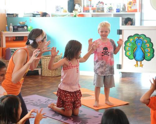 Zooga offers a diverse variety of classes for kids and families