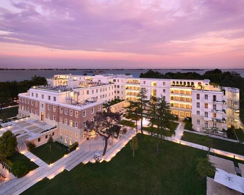 The JW Marriott Resort & Spa in Venice won the top accolade in European hospitality design / JW Marriott International