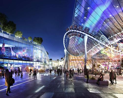 Wanda has several multi-billion dollar investments in the pipeline, such as Europa City in France