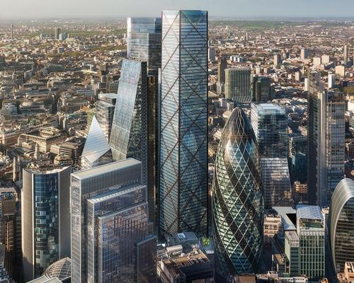 With a gross estimated area of 30,000sq m and a height of 309.94m, 1 Undershaft will be the tallest tower in the City of London / DBOX