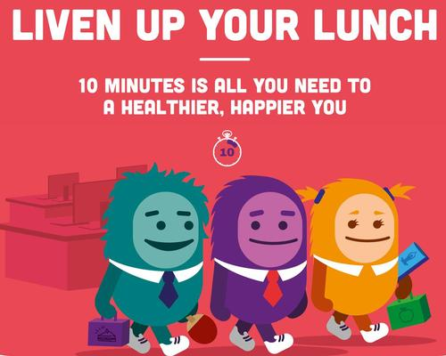 Campaign to encourage lunchtime physical activity