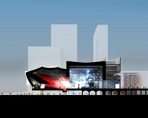 It will form part of the city's new 20 acre St. John's neighbourhood on the site of the former Granada TV Studios / OMA