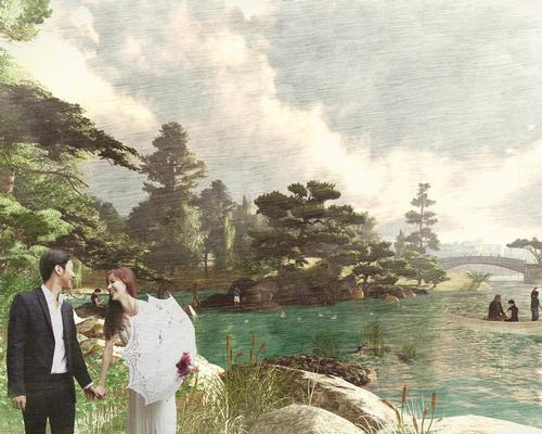 The municipal government wants to preserve the culturally, historically and ecologically unique Yongsan Park in order to turn it into a cultural landmark / West 8
