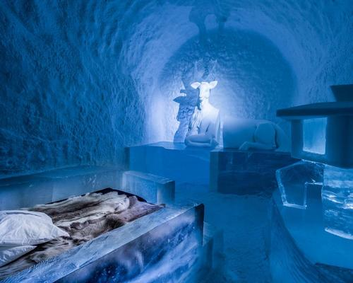 The Icehotel is located 200km from the Arctic Circle / Icehotel