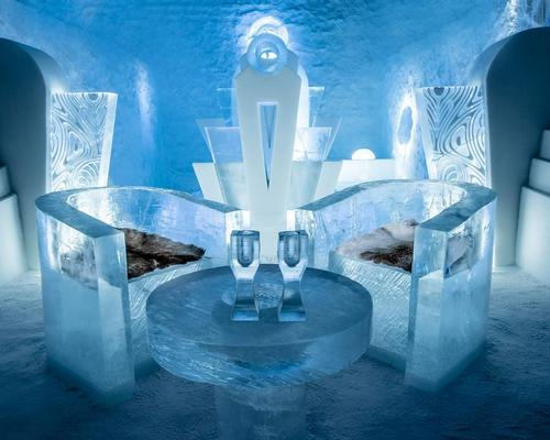 Eleven art suites feature at the new permanent Icehotel / Icehotel
