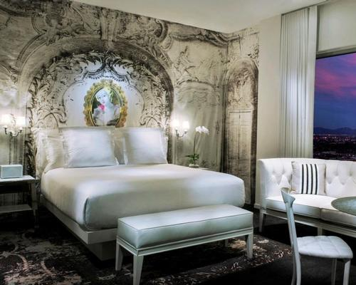 Kravitz has designed the hotel's top-floor WOW Suite / W Hotels