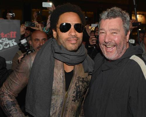 Lenny Kravitz and Philippe Starck have collaborated on the high-profile project in Vegas / Kartell