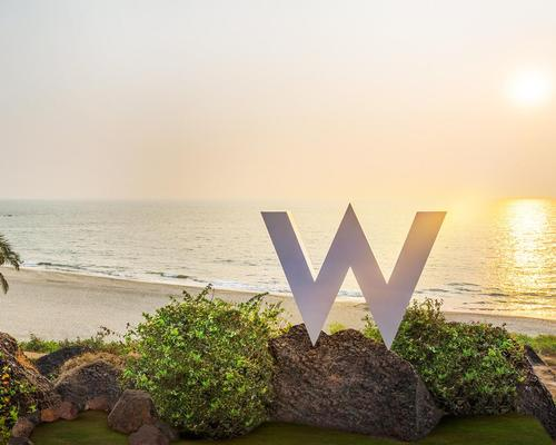 The W Goa is set to open this month in India, and the brand has 33 hotels in the pipeline