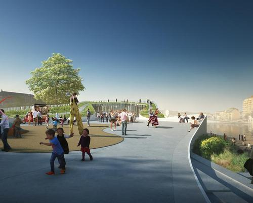 The design was the unanimous choice of the competition judges / 3XN
