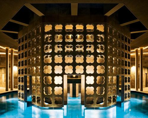 The spa has been designed to leave guests feeling both inspired and contemplative