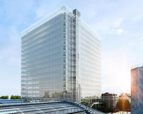 The £775m (US$978.3m, €917.5m) cubic building will replace the former Royal Mail sorting office next to Paddington Station / Sellar Property Group