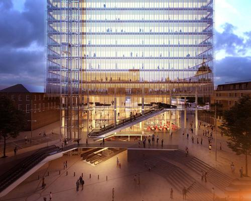 Renzo piano 39 s 39 game changing 39 paddington cube given green for Cubic hotel london