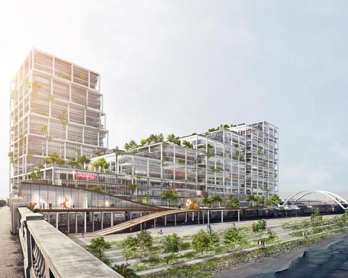 Bjarke Ingels Group have revealed their first LA design / BIG