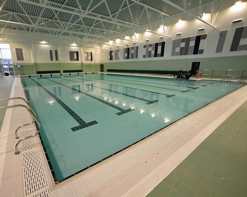 Perdiswell Leisure Centre pool hall is the centrepiece of a major extension