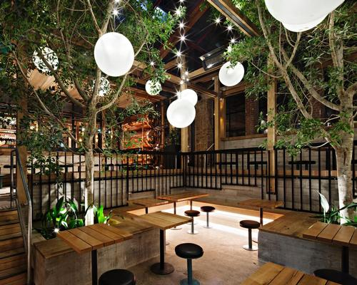 """The four-storey Garden State Hotel, located in the Central Business District's cosmopolitan Flinders Lane, has been designed as a """"warm, welcoming and intriguing"""" hospitality space"""