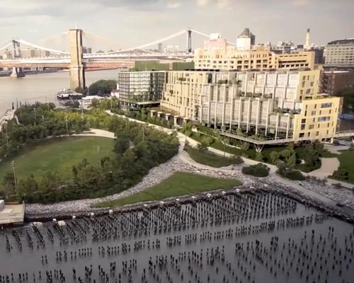 1 Hotel Brooklyn Bridge, designed by local architecture studio Incorporated, is located at Pier 1 on Brooklyn Bridge Park, just south of the iconic river crossing / 1 Hotels