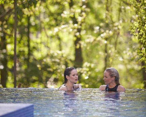 Sherwood Forest's new forest spa experiences will include open air walkways, outdoor relaxation areas submerged in the forest, and a treetop sauna that offers panoramic views over the forest canopy