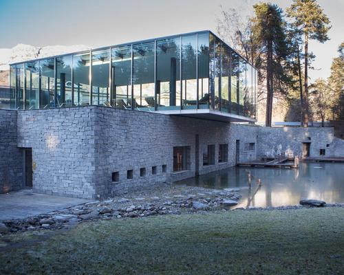 The 11-treatment-room Waldhaus Spa includes an indoor swimming pool, heated outdoor pool, and a natural swimming pond