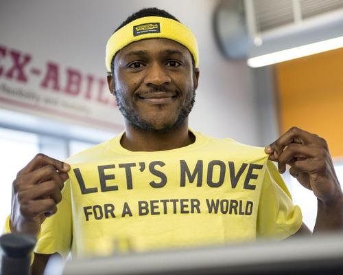 The Let's Move campaign was present in 513 fitness clubs around the world in 2016