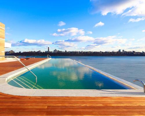 SoJo Spa Club is a new 240,000-square-foot spa resort and hotel overlooking the Hudson River