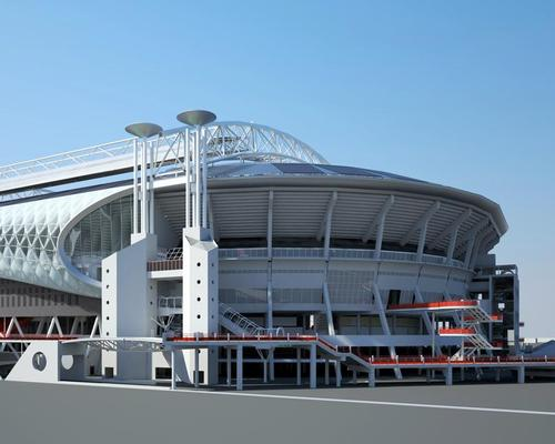 An artist's impression of the redeveloped Amsterdam ArenA