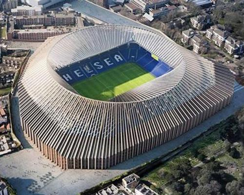 The stadium will have 60,000 seats – making it significantly larger than the 41,000-capacity Stamford Bridge / Herzog & de Meuron