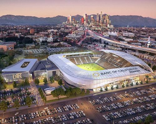 The stadium will be LA's first new open-air ground since 1962 / LA FC