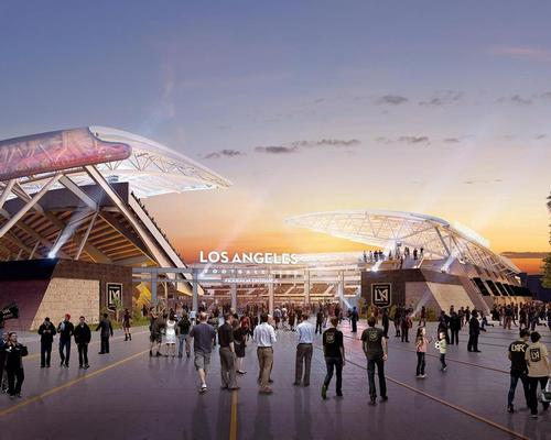 Architecture firm Gensler have designed the stadium for the new football franchise / LA FC