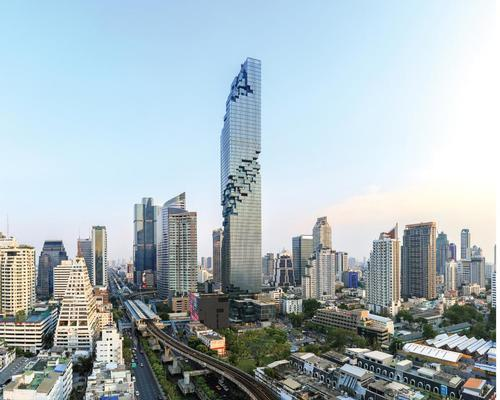 MahaNakhon by Ole Scheere was among the tallest leisure-filled skyscrapers completed in 2016 / PACE Development