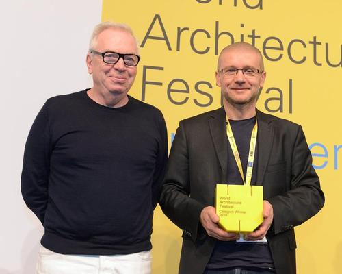 David Chipperfield chaired the jury that awarded Robert Konieczny the Building of the Year Prize at the 2016 World Architecture Festival / KWK Promes
