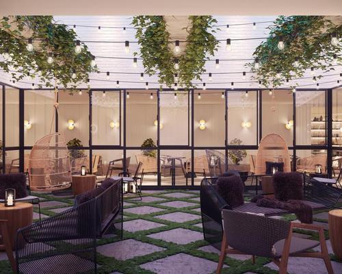 Architects Kentie en Partners and design firm Michaelis Boyd Associates have renovated and refurbished three original Renaissance-era buildings for the hotel / Michaelis Boyd Associates