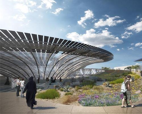 Pathways and gardens will lead visitors intuitively through the site / Grimshaw