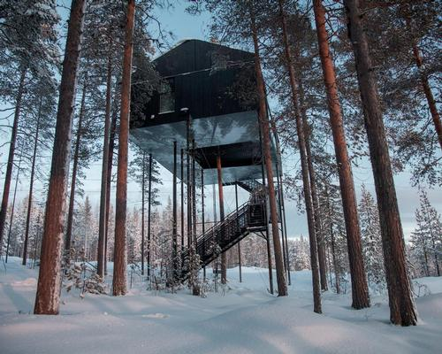 Snøhetta's 7th Room for the Treehotel in Sweden / Johan Jansson