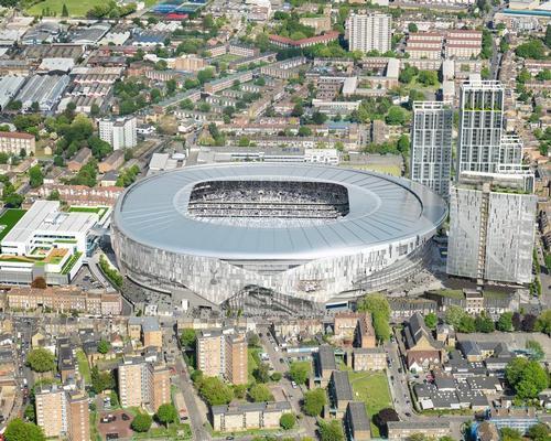 The new-look White Hart Lane in London / Tottenham Hotspur