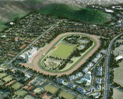 The proposed project on the south of the island comprises a marina, a racecourse, a shopping mall, a casino and leisure amenities / Government of St Lucia