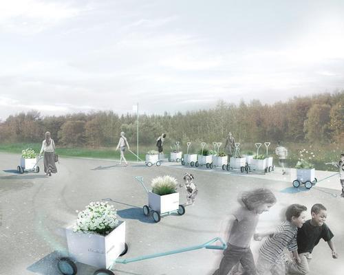 L'Escale by Collectif Escargo / International Garden Festival/V2.com