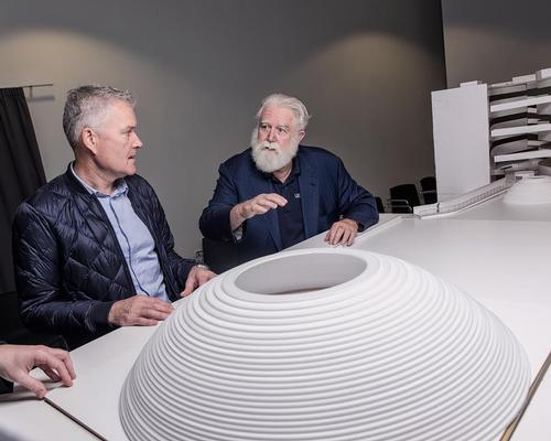Morten Schmidt and James Turrell are bringing a sense of spirituality to the project / Schmidt Hammer Lassen