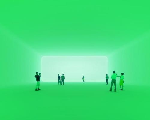 Morten Schmidt said that the vast installation will allow visitors to 'experience real colour and energy' as art and architecture are merged / Beauty & The Bit
