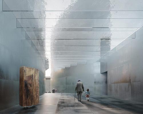 The design by Lahdelma & Mahlamäki Architects and David Morley Architects / Lahdelma & Mahlamäki Architects and David Morley Architects & Malcolm Reading Consultants