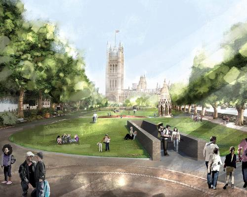 The design by Foster + Partners and Michal Rovner / Foster + Partners and Michal Rovner & Malcolm Reading Consultants