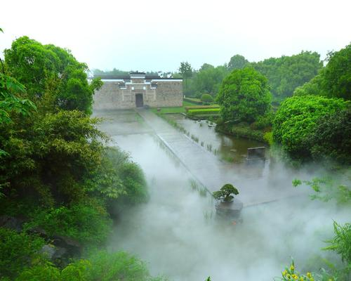 Amanyangyun, as the retreat will be called, gets its name from the phrase 'Yang Yun,' meaning 'the nourishing of clouds'